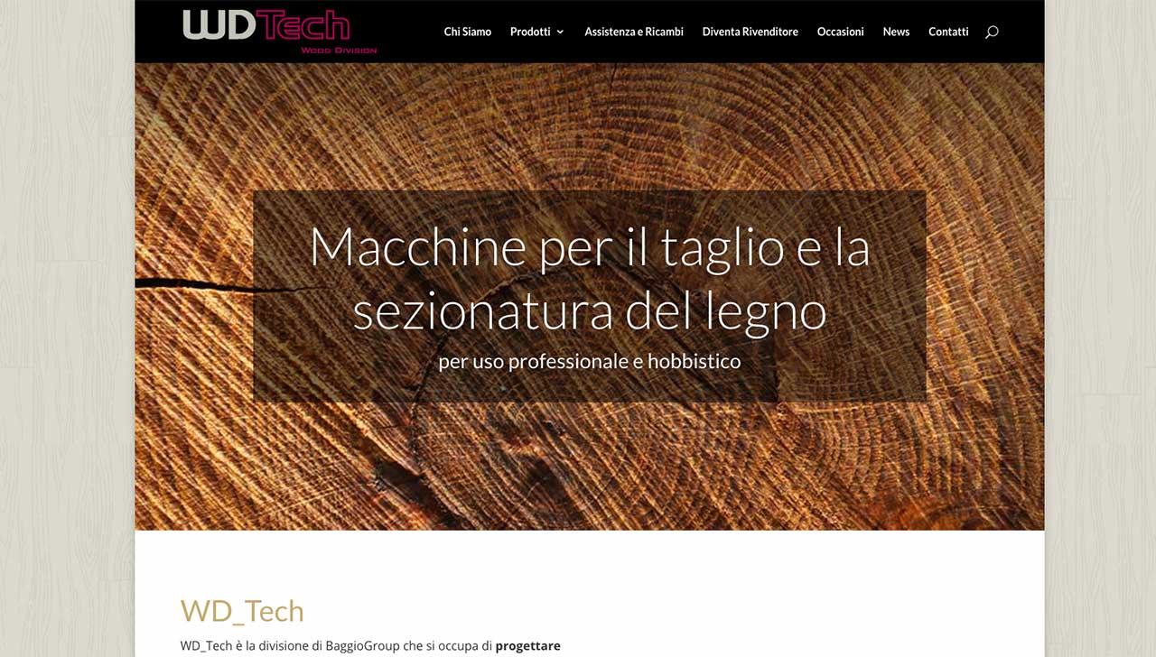 WDTech - macchine per la sezionatura del legno