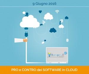 Pro e contro dei software in cloud