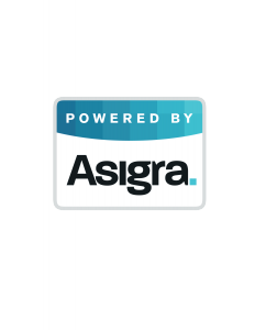 Powered By Asigra Logo